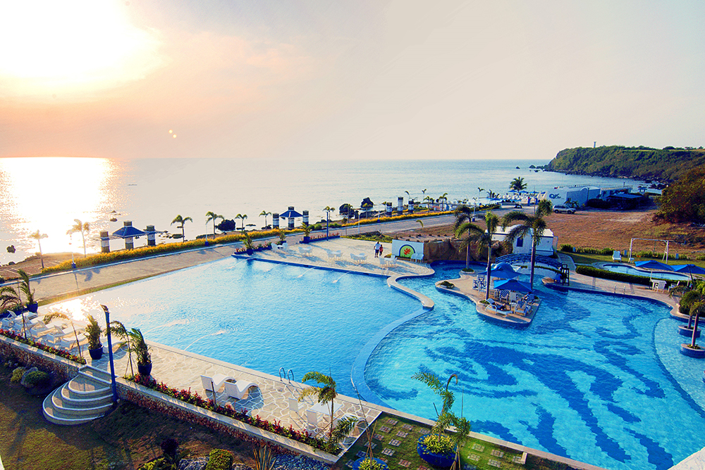 Infinity Pool at Thunderbird Resorts Poro Point, La Union