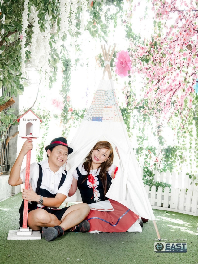 prenup shoot studio namu