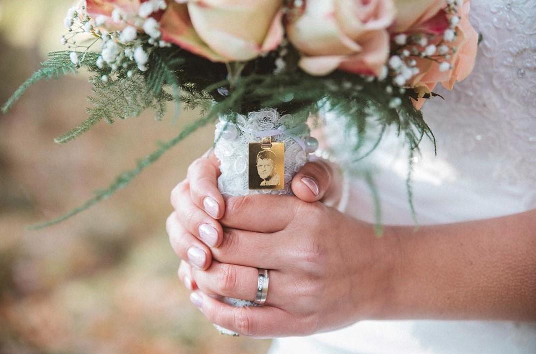 wedding memorial bouquet