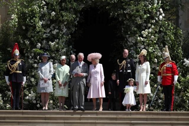 #royalwedding2018 elizabeth ii bbc news