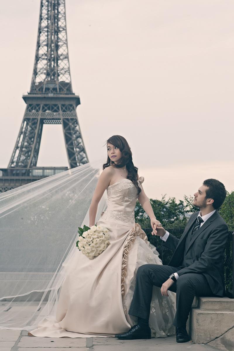 rudolphe theresa paris wedding