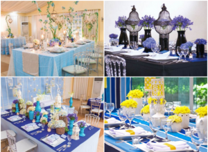blue wedding themes hizons catering