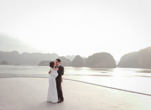 Christopher de Leon and Sandy Andolong's Renewal of Vows overlooking Ha Lon g Bay in Vietnam