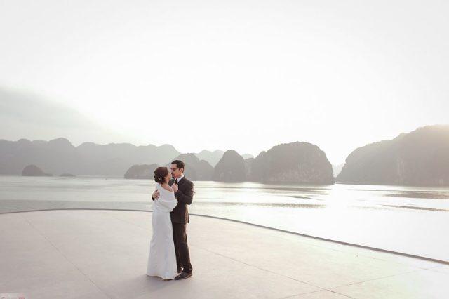 Christopher de Leon and Sandy Andolong's Renewal of Vows overlooking Ha Lon g Bay in Vietnam