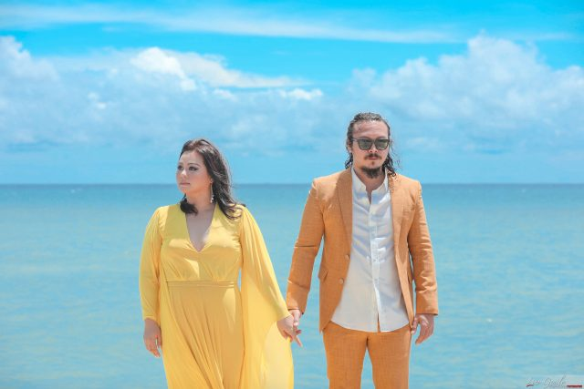 Baron & Jamie's Photoshoot in Cebu, captured by Lito Genilo for #TWLBridalFair2020