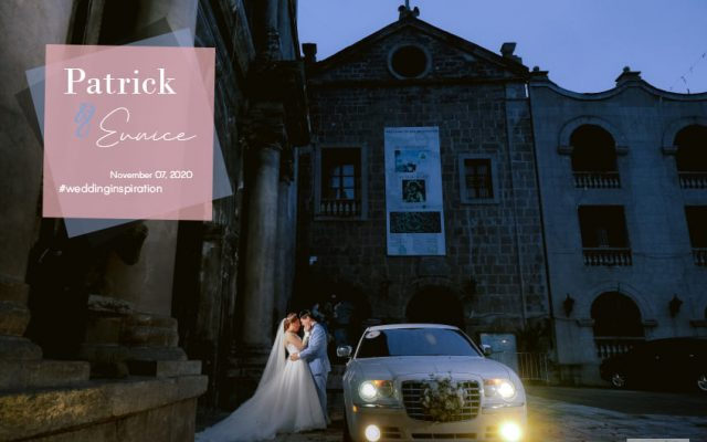 Patrick and Eunice Intimate Wedding in Manila. Captured by Smart Shot Studio.