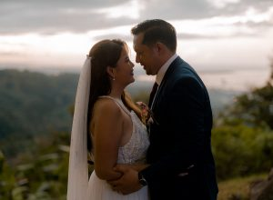 No More Goodbyes: Andrew & Carina's Intimate Mountain Garden Wedding in Malasag
